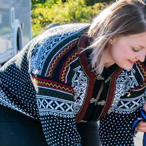 Bykle lusekofta från Norwool