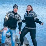Trysil stickad norsk tröja