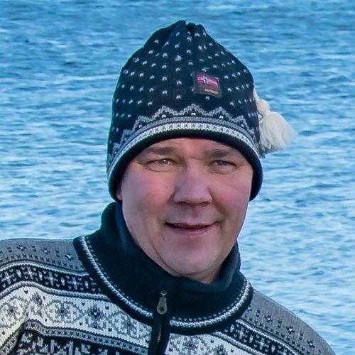 Norwool Mössa - Fiskar vit