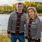 En äkta Norsk Lusekofta – Lillehammer exklusiv